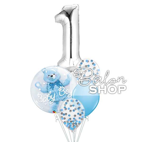meda baby boy buket balona za prvi rodjendan