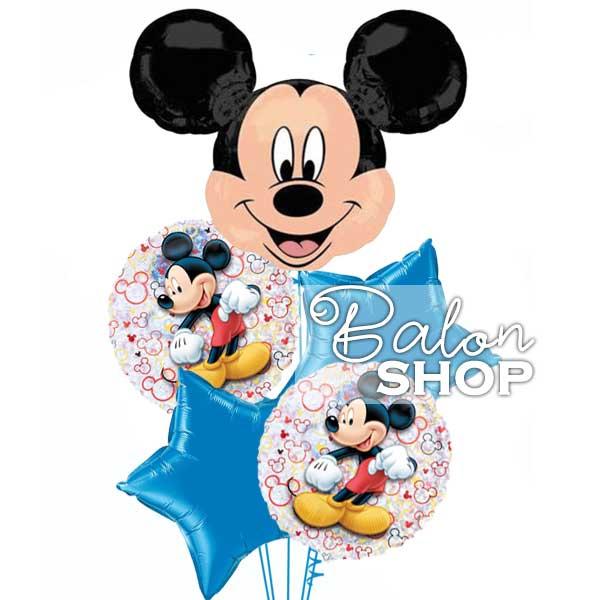 Miki maus buket balona sa helijumom