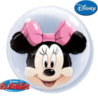 Minnie Mouse double bubble