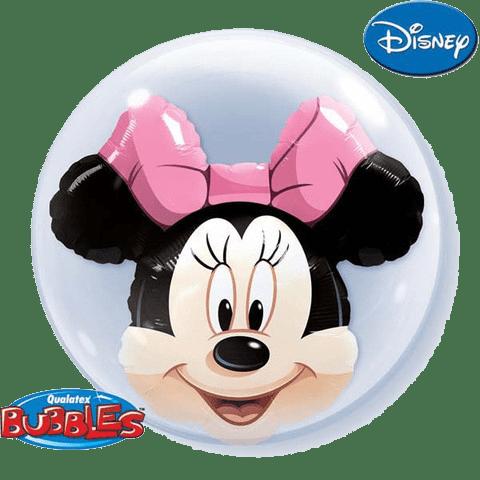 minnie bubble balon