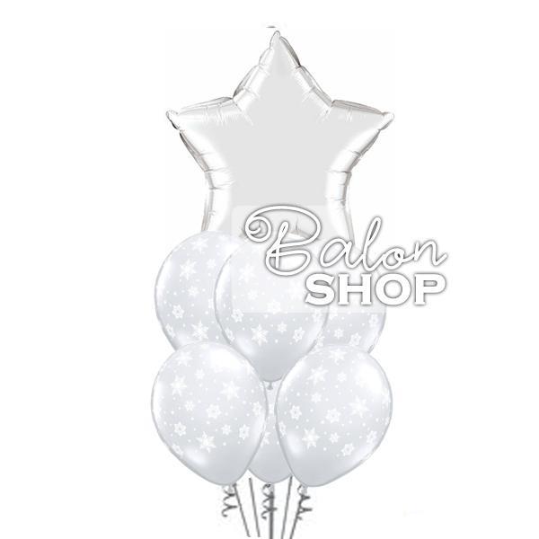 pahuljice buket balona