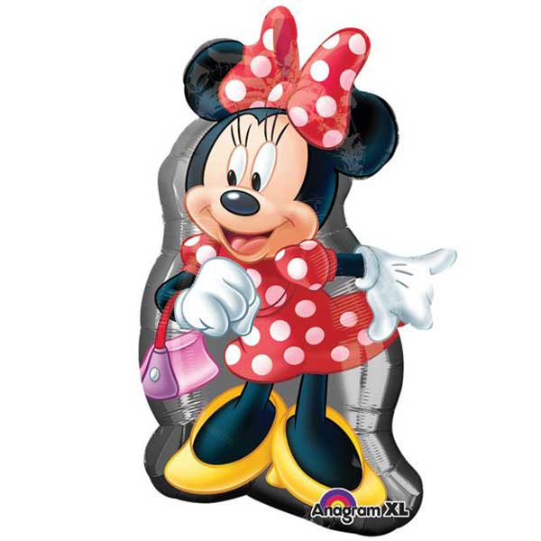 minnie mouse sa tasnicom balon