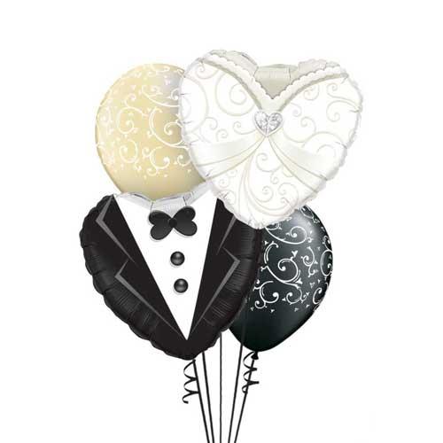 mladenci baloni helijum