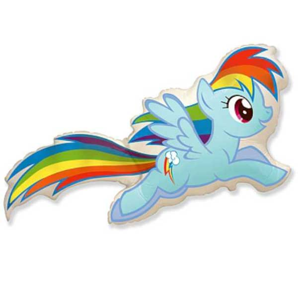 my little pony plavi balon