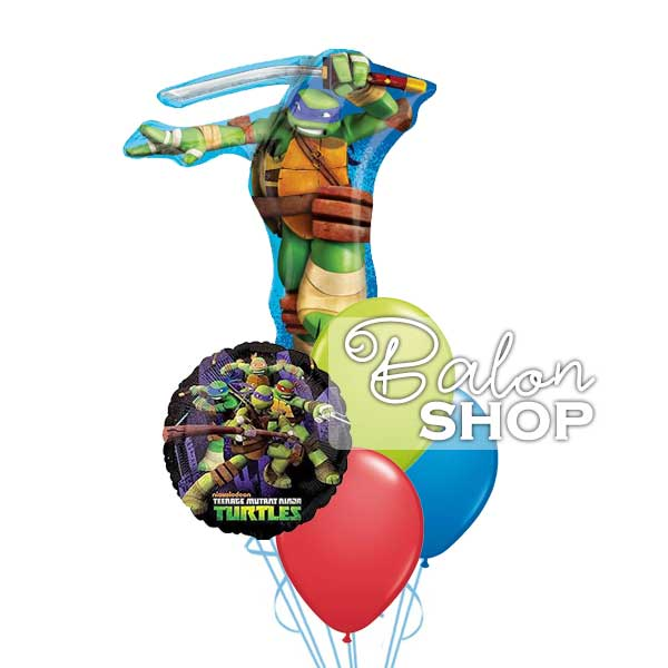 nindza kornjace buket balona