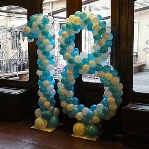 2m Brojevi od malih balona