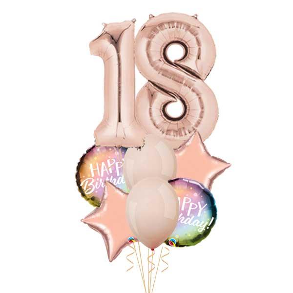 18 rodjendan baloni ombre buket