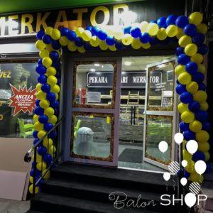 otvaranje pekare luk od balona