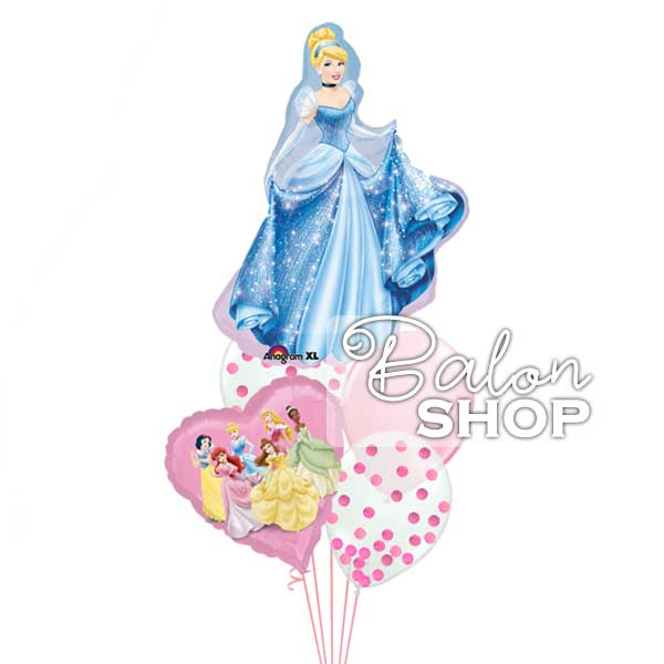 pepeljuga i princeze baloni