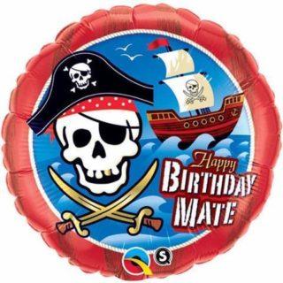 Pirat Happy Birthday balon