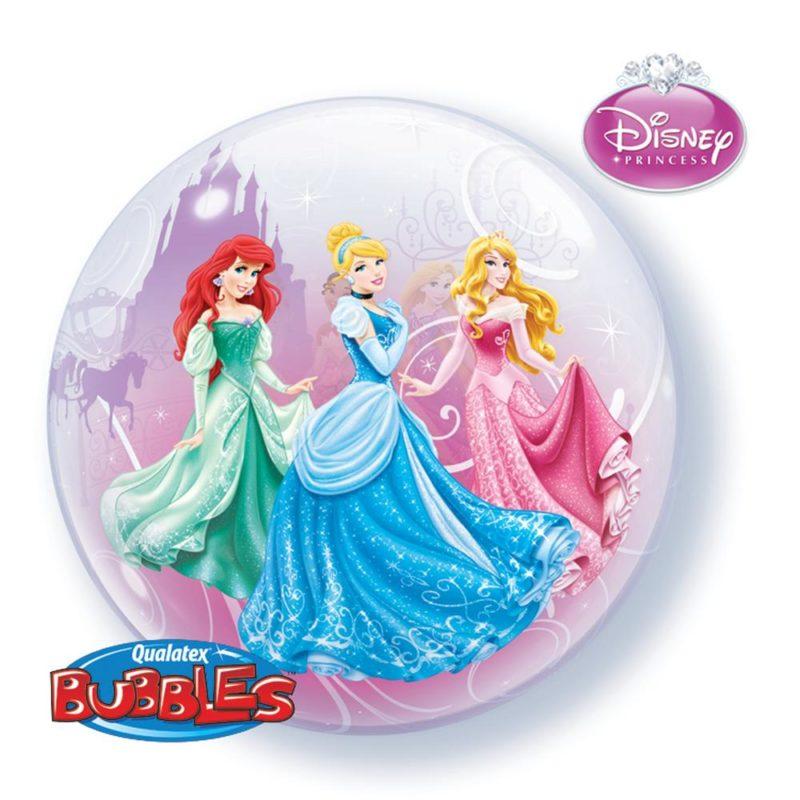 princess bubble balon