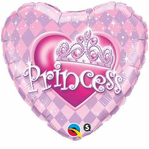 princess srce balon