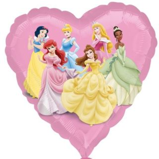 Disney Princess srce folija balon