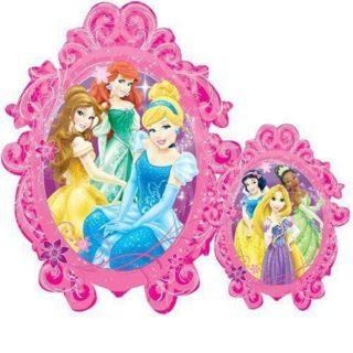 Disney Princeze u ogledalu veliki balon