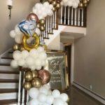 prsten balona dekoracija stepenica