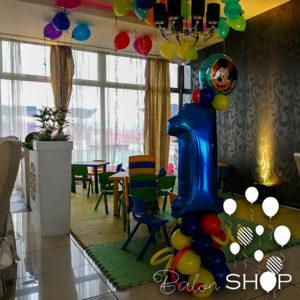 deciji rodjendan stub od balona