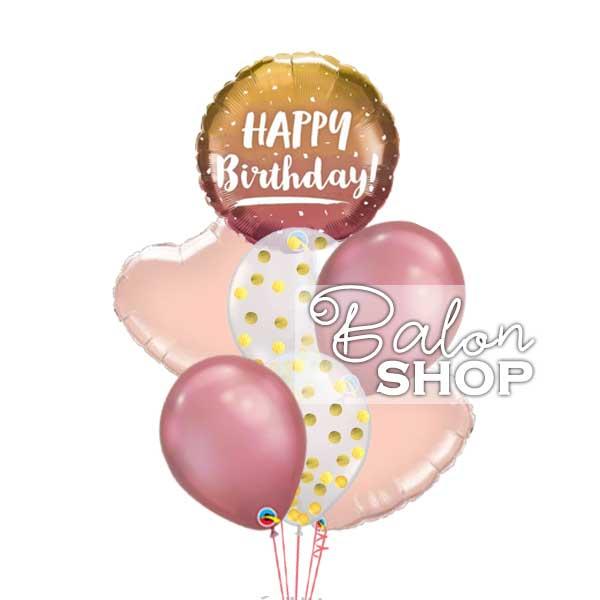 rodjedanski buket balona sa helijumom