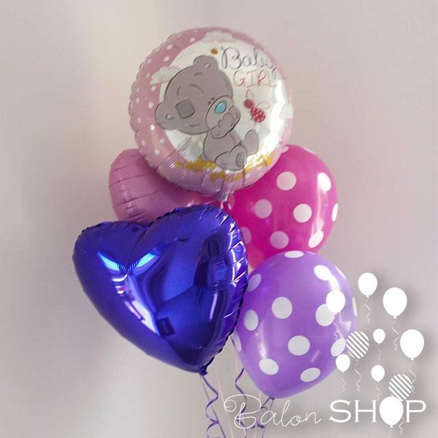 baloni za rodjenje devojcice