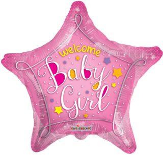 Zvezda Baby Girl balon