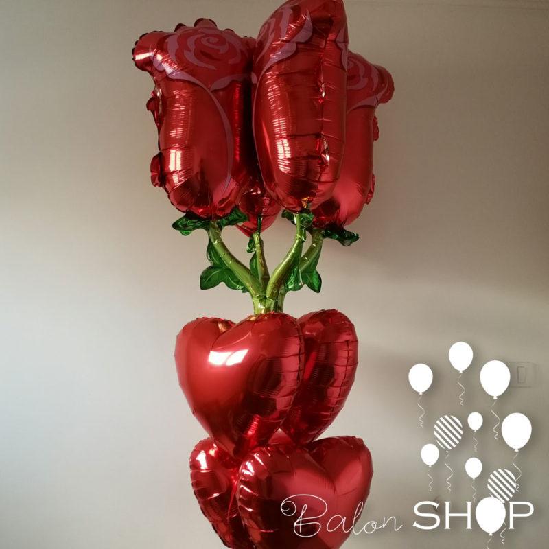 ruza balon