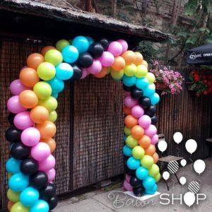 luk od balona u vise boja