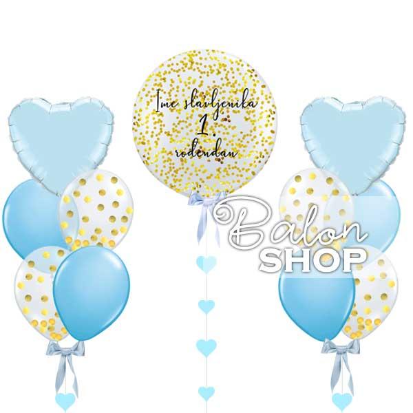 prvi rodjendan baloni decak