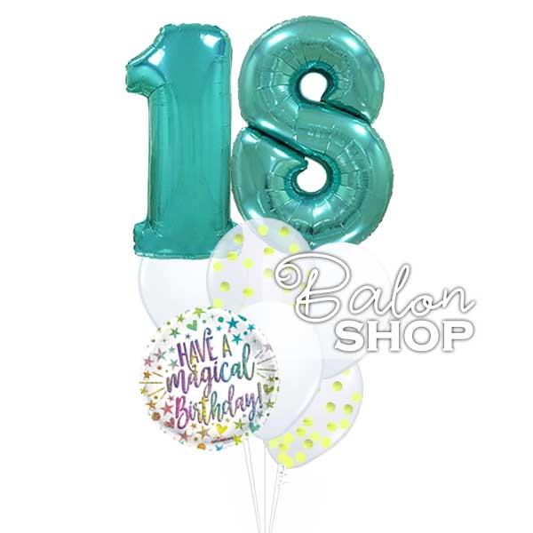 Have a magical Birthday buket balona za 18 rođendan
