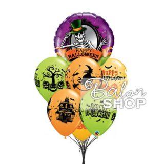 Halloween skelet buket balona