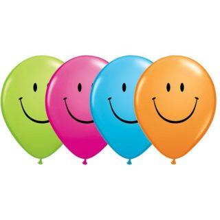 Smile latex baloni