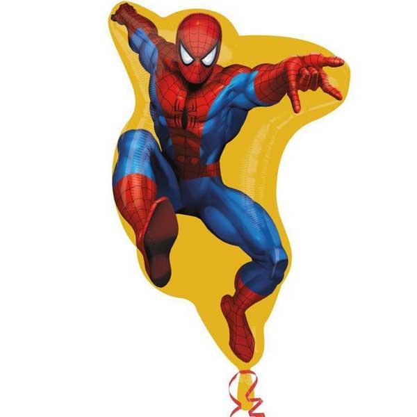 spiderman balon zlatni