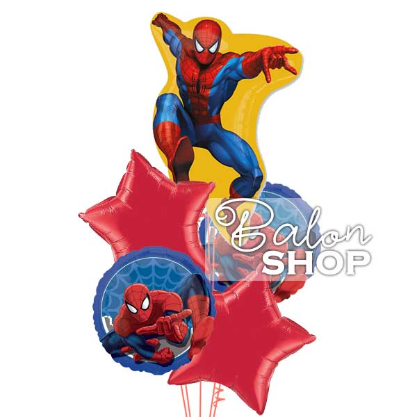 spajdermen buket balona za decu