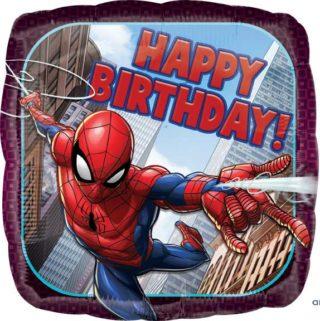 Spiderman Happy birthday folija balon