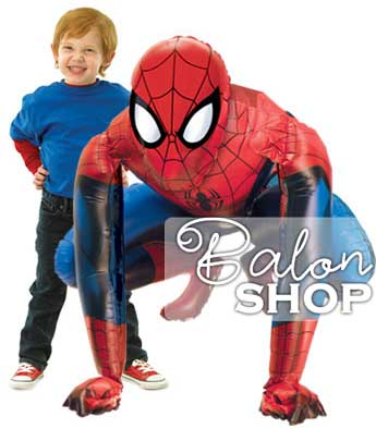 spiderman airwalker balon