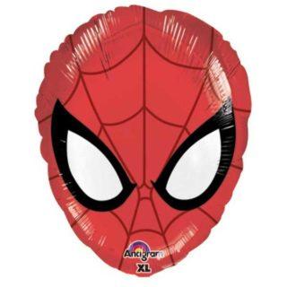 Spiderman glava folija balon