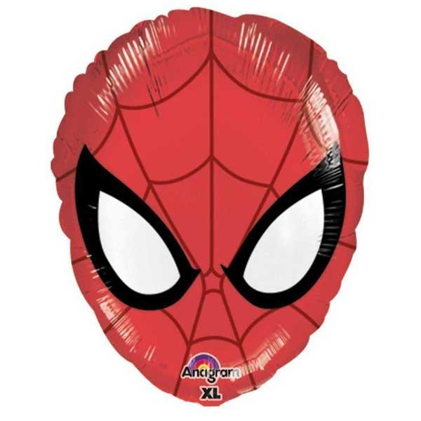 glava spiderman balon