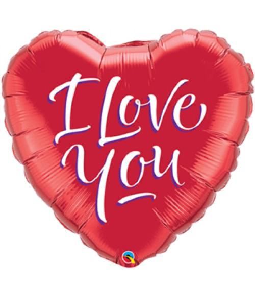 srce crveno i love you