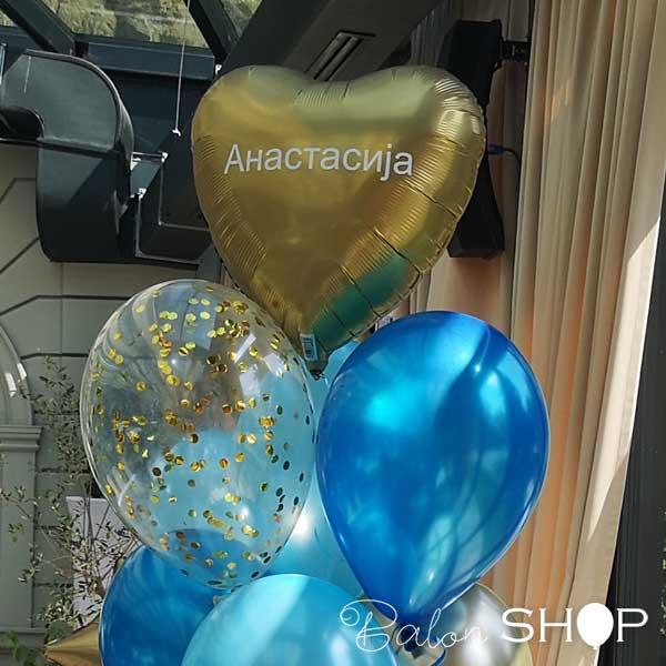stampa cirilica na balonu