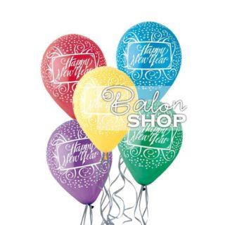 Šareni baloni za Novu godinu