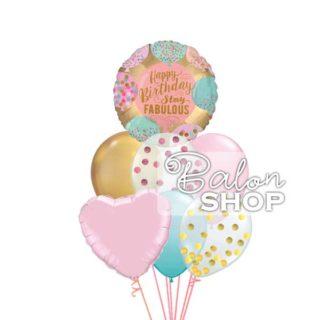 Stay fabulous rodjendanski buket balona