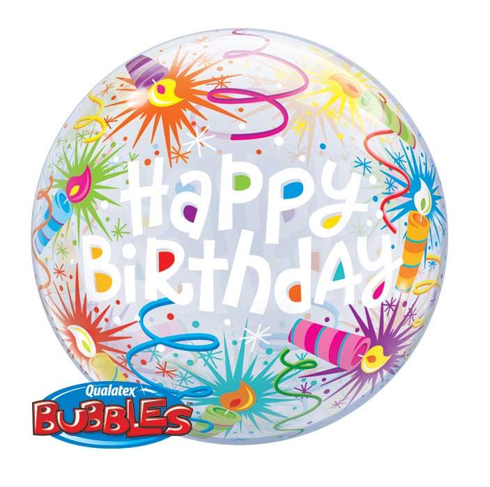 bubble svecice balon