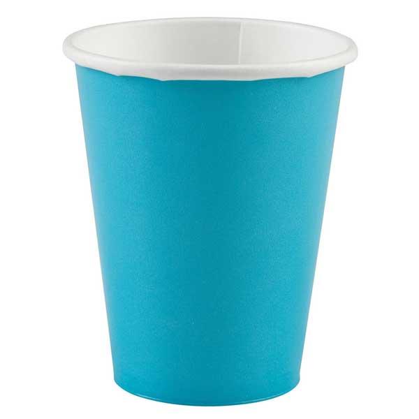 svetlo plave papirne case