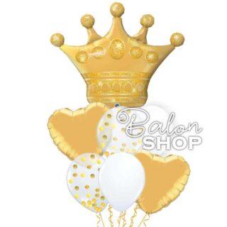 Ti si moja kraljica buket balona