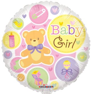 Baby Girl balon sa Medom i beby igračkicama