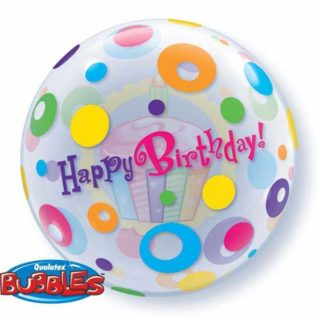 Happy Birthday Tufnice bubble baloni