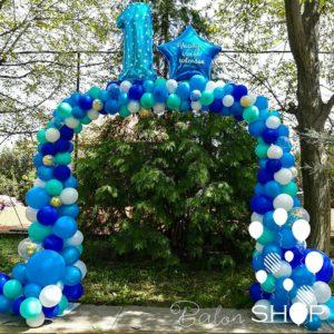 prvi rodjendan luk od balona