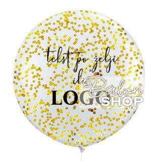 Veliki balon sa konfetama i štampom