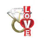 Ljubavni & Venčanja veliki baloni