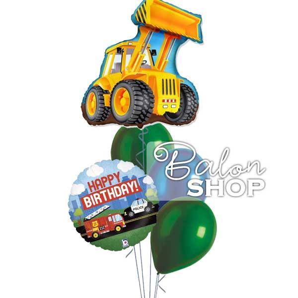 vozila buket balona sa helijumom