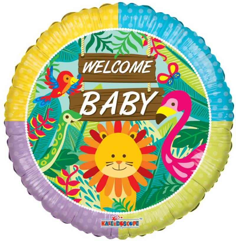 welcome baby balon