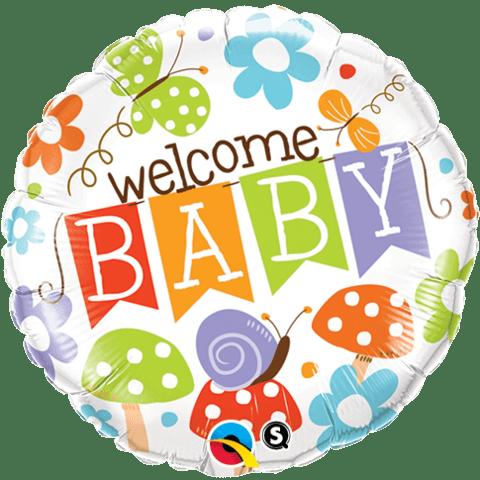 welcome baby folija balon